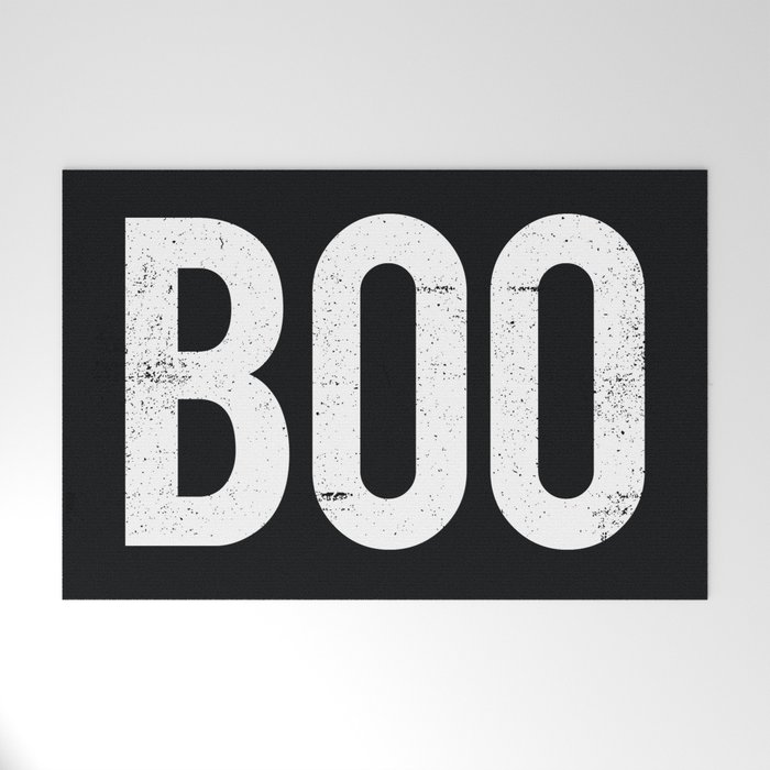 Boo Welcome Mat