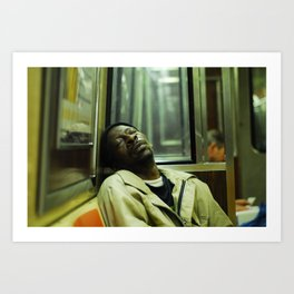 Knocked Out Art Print