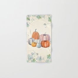 Pumpkin Patch Hand & Bath Towel