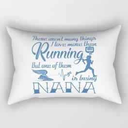 Running Nana Rectangular Pillow