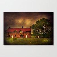 farm Canvas Prints featuring Farm by Svetlana Sewell