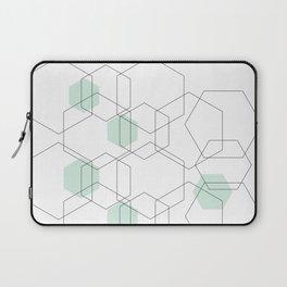 Modern Hexagon Design Laptop Sleeve