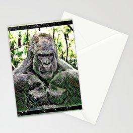 Primate Models: Mad Gorillas 01-01 Stationery Cards
