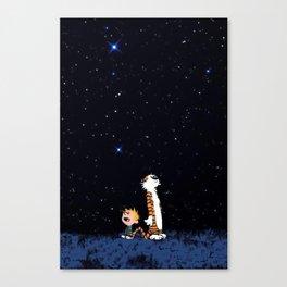 Calvin Hobbes Canvas Print