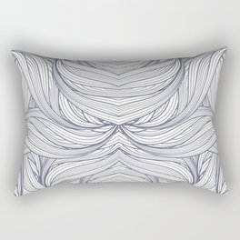 abstract pattern of thin lines Rectangular Pillow