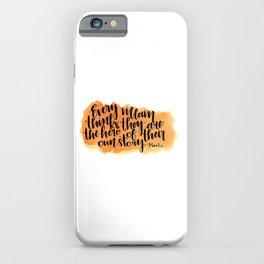 Every Villian iPhone Case