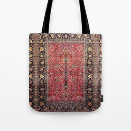 Antique Persian Red Rug Tote Bag