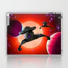 Klingon Battle Cruisers Laptop & iPad Skin