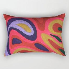 Colour composition Rectangular Pillow