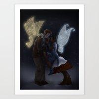Spell Caster Art Print