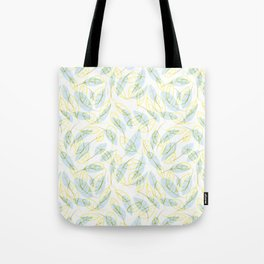 Wind and feathers Tote Bag