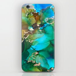 """Abstract Art """"Still Waters"""" iPhone Skin"""
