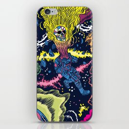 Boundless three-dimensional extent iPhone Skin