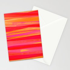 Strokes- Orange Stationery Cards