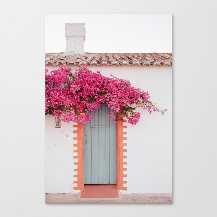 Summer Door Canvas Print