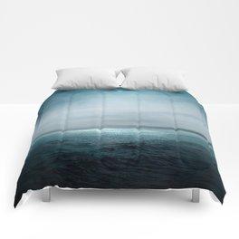 Sea Under Moonlight Comforters