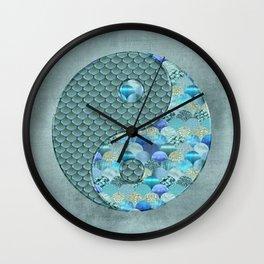 Yin Yang Ocean Spirit Wall Clock