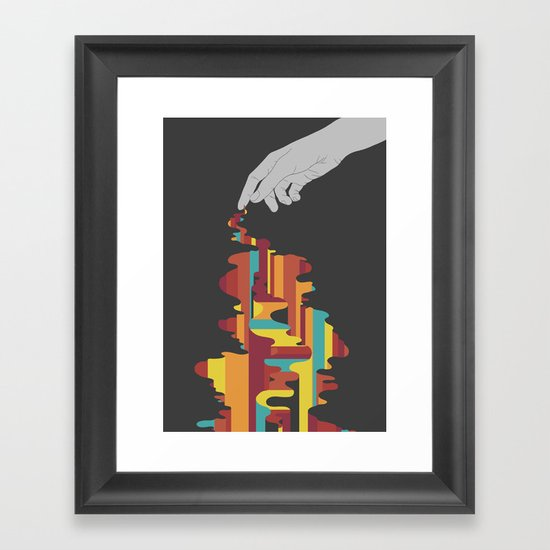 Colourbleed Framed Art Print