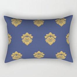 Free Marches (Blue) Rectangular Pillow