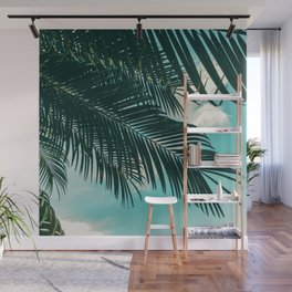 Tropical Palms #palm tree Wall Mural