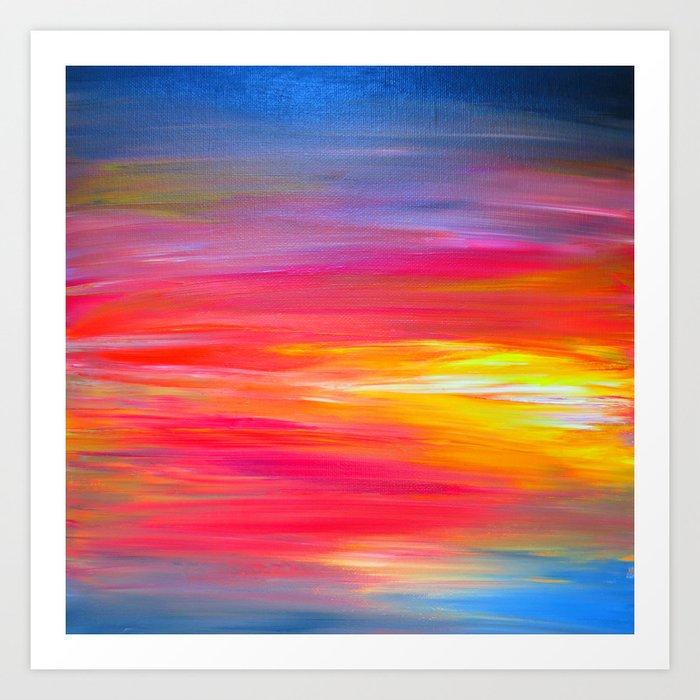 Abstract Bright Artwork