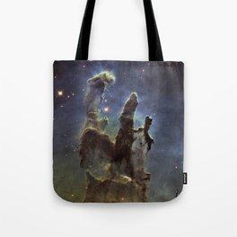 Pillars of Heaven - Galaxy Tote Bag