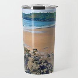 Caswell Bay, Swansea, Gower, Wales UK Travel Mug