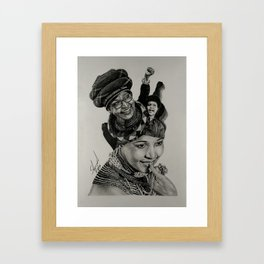 Mam' Winnie Framed Art Print