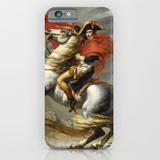 Napoleon Crossing the Alps by Jacques Louis David Slim Case iPhone 6