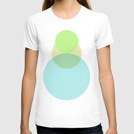 Gradient Circles T-shirt