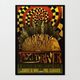 TAXI DRIVER Anniversary Canvas Print