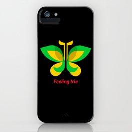 Feeling Irie Rasta Butterfly iPhone Case