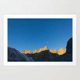 Mt. Whitney Art Print