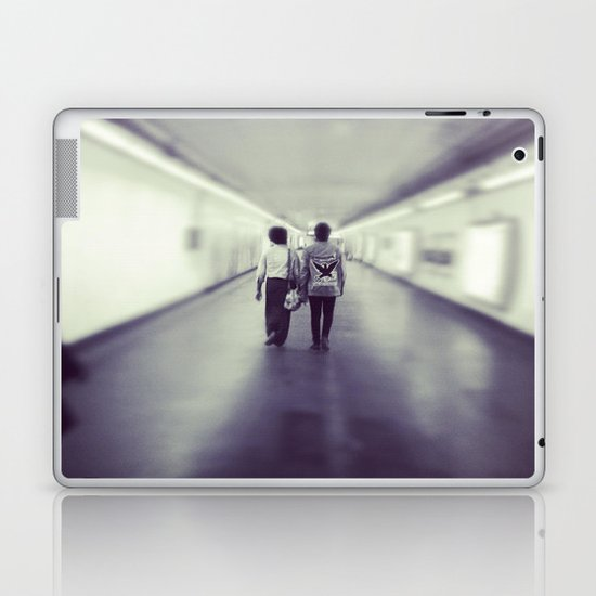 Long Walk Home Laptop & iPad Skin