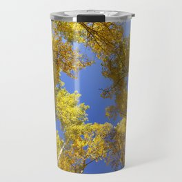 Golden Hour in Aspen Colorado / Maroon Bells Travel Mug