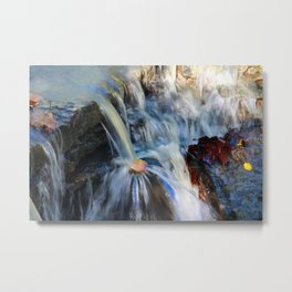 Beauty Flows Metal Print