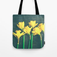 happiness Tote Bags featuring Happiness by Olivia Joy StClaire