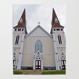 Saint John the Baptist Church in PEI Poster