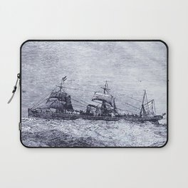 Mastery of Nature by Man Laptop Sleeve