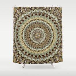 MANDALA 672 Shower Curtain