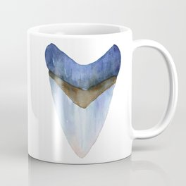 Blue Shark Tooth Coffee Mug