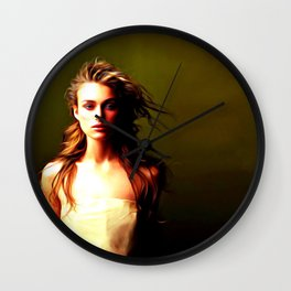 Keira Knightley - Celebrity Art Wall Clock