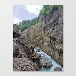 Breitachklamm #3 Canvas Print