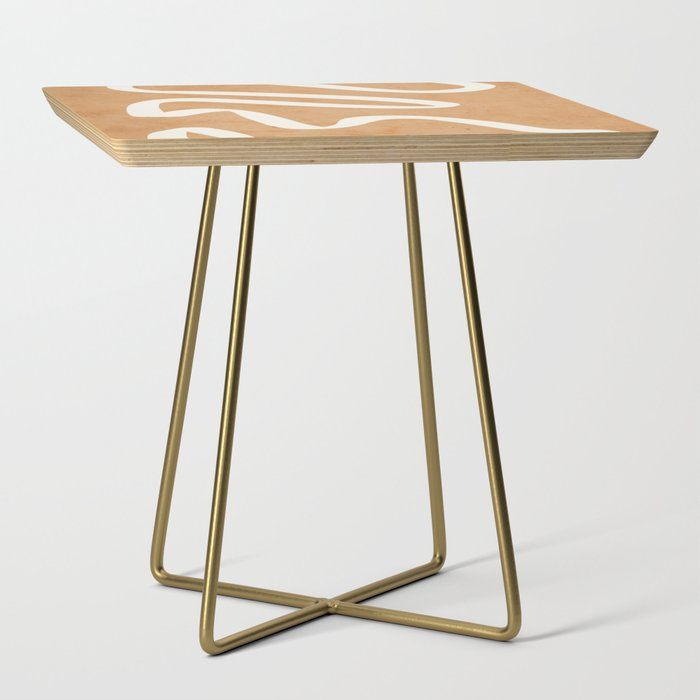 abstract minimal 31 Side Table
