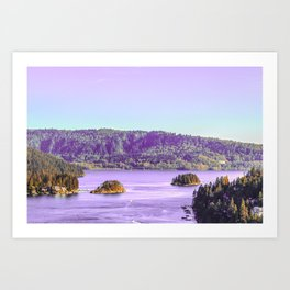 The House in the Forest Art Print