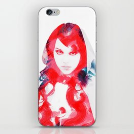 little red iPhone Skin