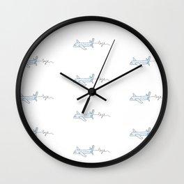 Juste s'évader Wall Clock