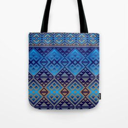 The Lodge (Blue) Tote Bag