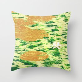 Water Lily 13 Throw Pillow