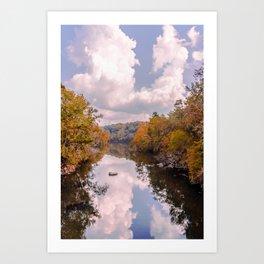 Fall Reflection Art Print